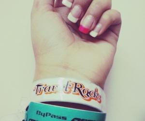 nails, uñas, and travel rock image