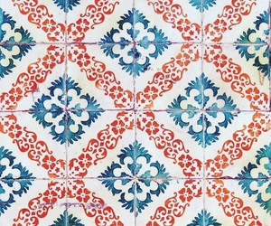 blue, indie, and pattern image