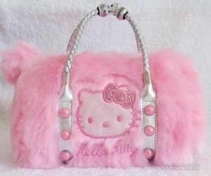 bag, hello kitty, and HK image