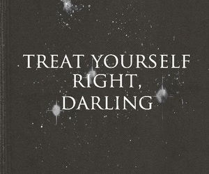 quote, darling, and Right image
