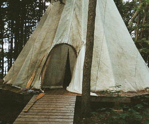 indie, tent, and nature image