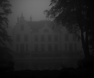 castle, creepy, and Darkness image