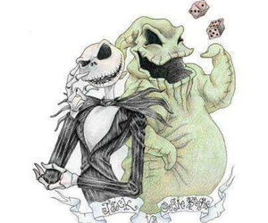 Halloween, jack skellington, and christmas image