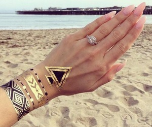 summer, beach, and ring image