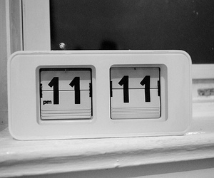 11:11, clock, and he loves me image