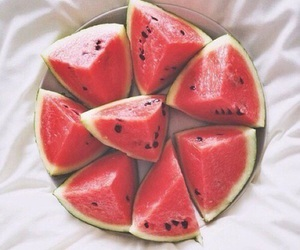 healthy, red, and melon image