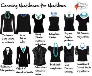 necklace and neckline image