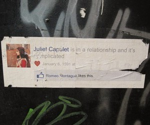 facebook, romeo, and juliet image