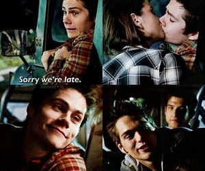 kiss, stiles, and dylan o'brien image