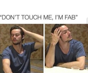 dylan, teen wolf, and fab image