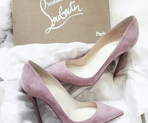 christian louboutin and shoes image