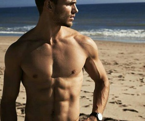 abs, beach, and flawless image