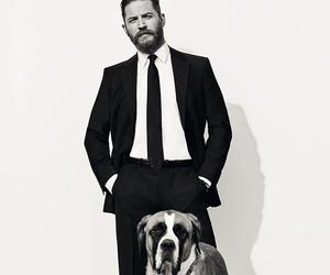 tom hardy, dog, and Hot image