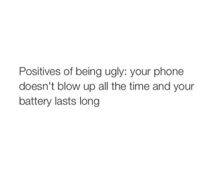 true af and pros of being ugly image