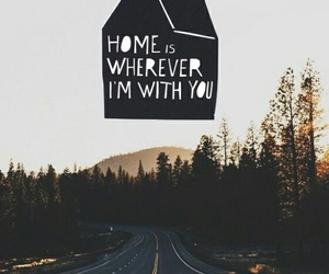 love, home, and quote image