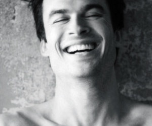 ian somerhalder, smile, and tvd image