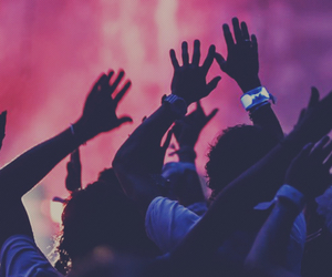 party, music, and concert image