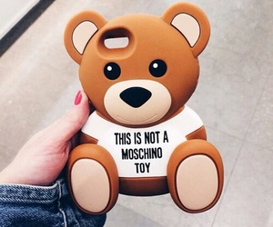 case, bear, and Moschino image