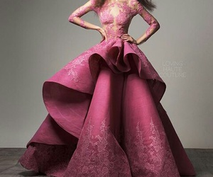 Couture, gown, and saiid kobeisy image