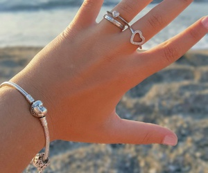 charms, pandora, and bestfriends image