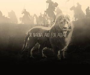 narnia, aslan, and book image