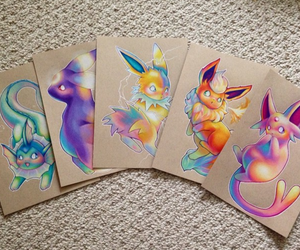 drawing, art, and eevee image