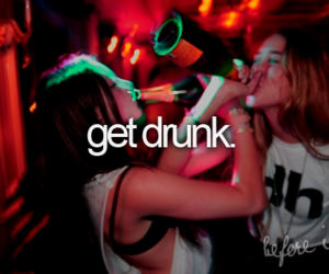 drunk, party, and get drunk image