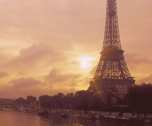 paris, france, and sun image