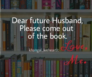 books and husband image