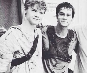 thomas brodie sangster and dylan o'brien image