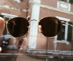 glasses, retro, and sun glasses image