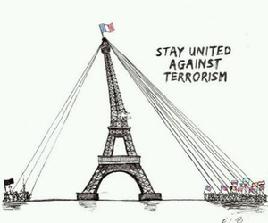 paris, prayforparis, and terrorism image