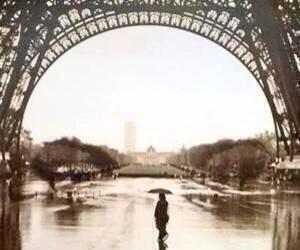 paris, face, and rain image