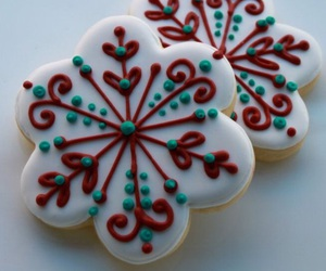 christmas, cookie, and gingerbread image