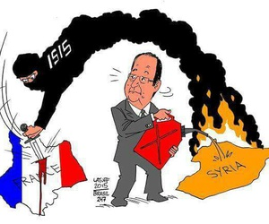 paris, france, and isis image