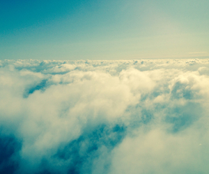 air, beautiful, and clouds image
