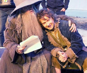 gandalf, ian mckellen, and Martin Freeman image