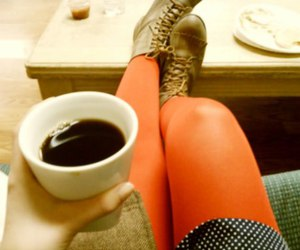 coffee, moments, and oxford hi-cut image