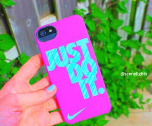 Just Do It, nike, and girl image