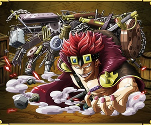 one piece and eustass captain kid image