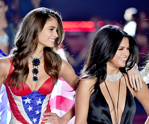 taylor hill, selena gomez, and model image