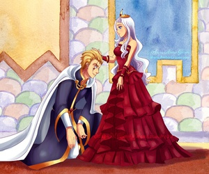 fairy tail, king and queen, and luxus image