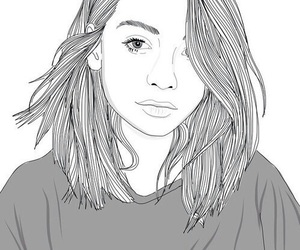 outline, drawing, and art image