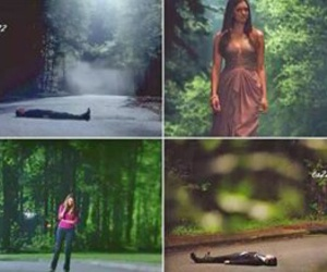 end, start, and the vampire diaries image