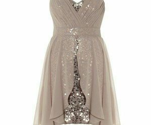 dress, fashion, and sequins image