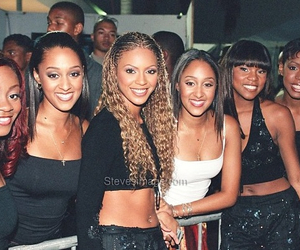 destiny's child, kelly rowland, and beyoncé image
