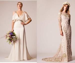 temperley london, wedding, and wedding dress image