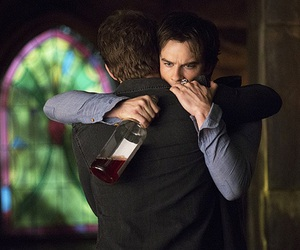 the vampire diaries, tvd, and brothers image