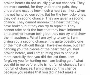 chances, heartbreak, and mistake image