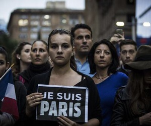 horror, jesuisparis, and staystrong image